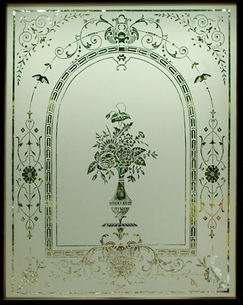 Etched Glass Stained Glass Glasgow Scotland